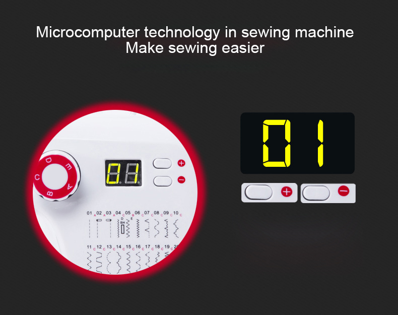 Multi-function Household Electric Sewing Machine